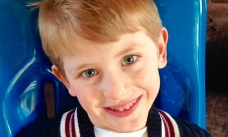 Kit van Berckel suffered devastating neurological injuries at birth.