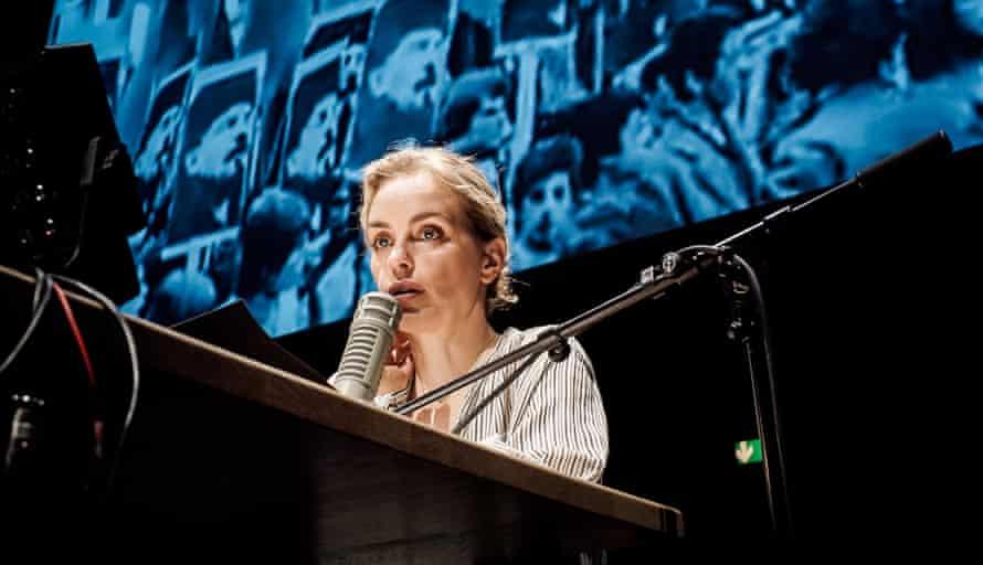 Nina Hoss in Returning to Reims at Manchester International Festival 2017