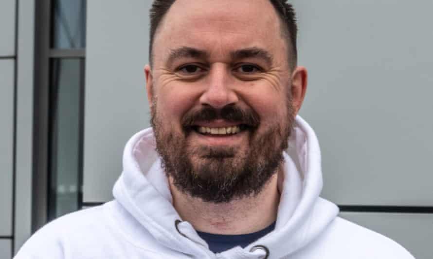 Martin Hibbert, survivor of the 2017 Manchester Arena bombing.