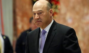 Goldman Sachs president and chief Gary Cohn has been named as Trump's 'top economic advisor'.