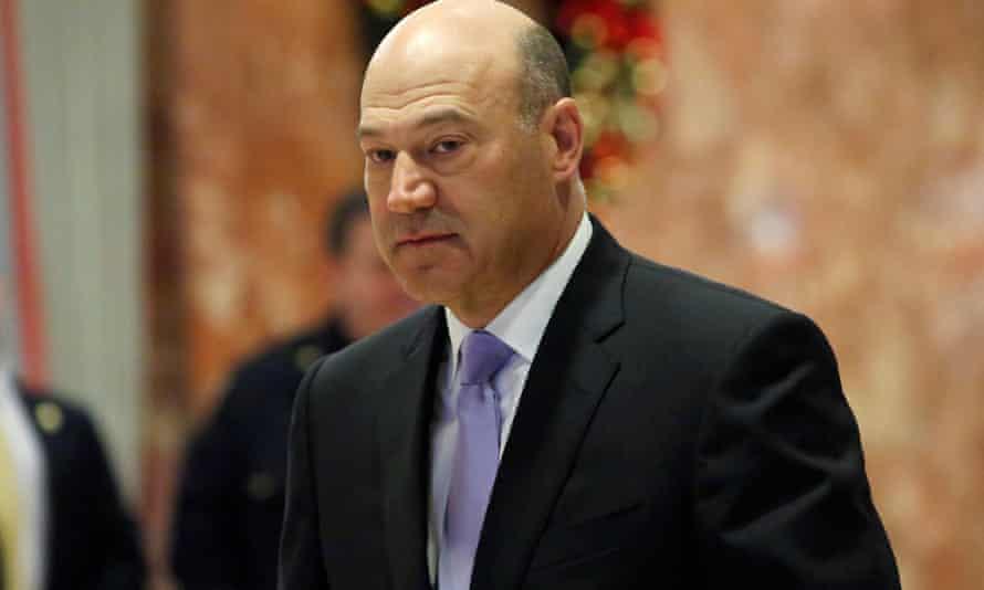 Goldman Sachs president and chief Gary Cohn has been named as Trump's 'top economic advisor'.