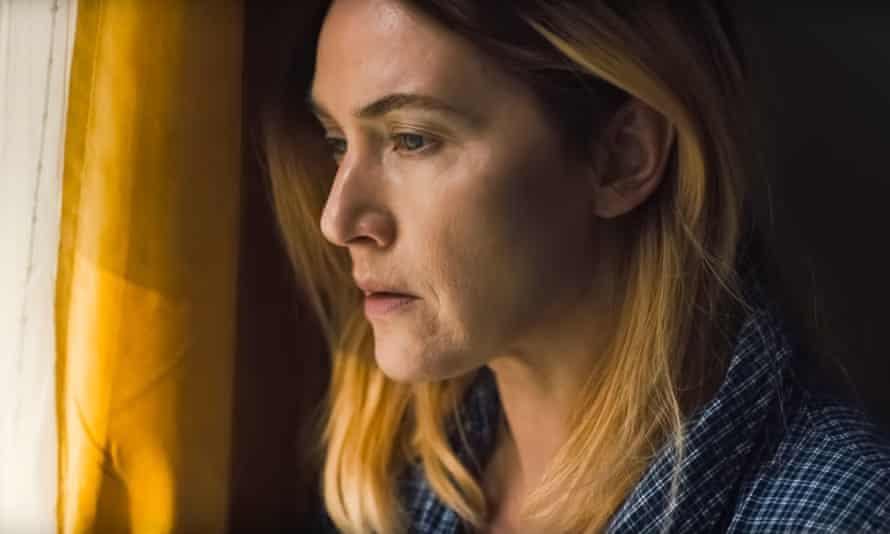 Kate Winslet in a scene from the HBO  series Mare of Easttown