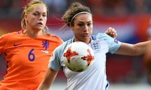 England's Jodie Taylor, who won the Golden Boot, in action during the Euro 2017 semi-final against Holland.