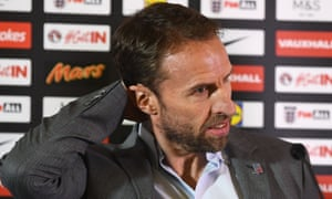 England's manager, Gareth Southgate