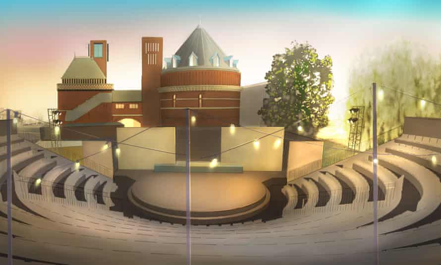 Artist's impression of the RSC's planned garden theatre