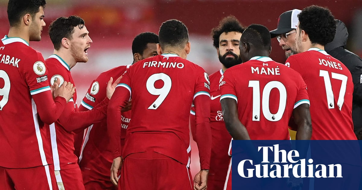 Klopp says missing top four would not mean long-term damage to Liverpool - the guardian
