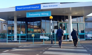 The Royal Cornwall hospital in Truro