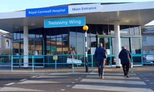 Hayley Jermyn gave birth to Charlie in a toilet shortly after she was sent home from the Royal Cornwall hospital in Truro.