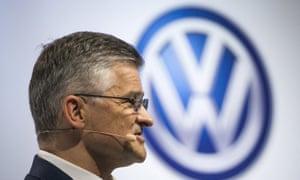 VW's US boss Michael Horn.
