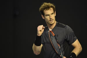 Murray takes the second set.