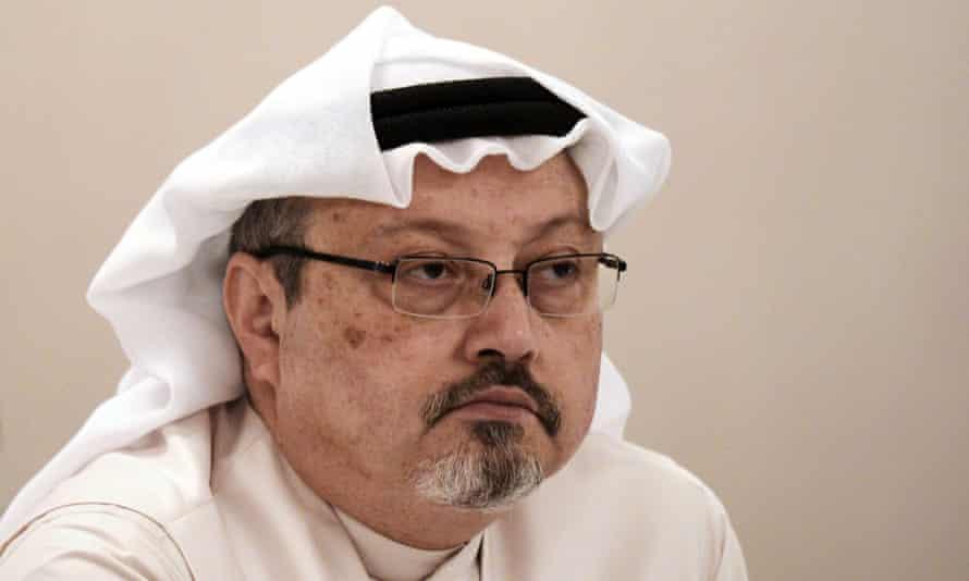 Jamal Khashoggi, pictured in December 2014