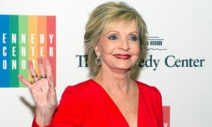 US actress and singer Florence Henderson in 2013. Henderson died at the age of 82 on Friday.