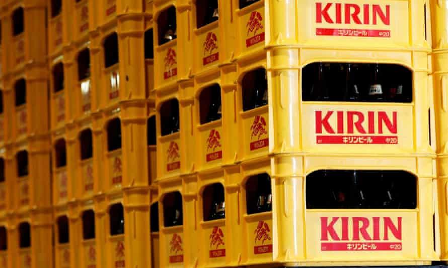Kirin is behind brands including XXXX, Tooheys, Kirin, and Little Creatures.