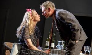 Cate Blanchett and Richard Roxburgh in The Present.