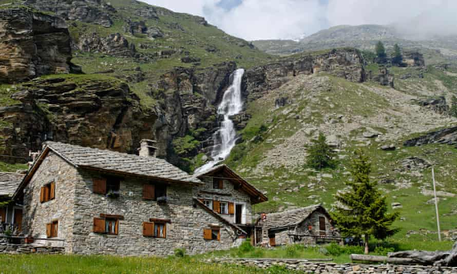 The Gran Paradiso National Park in Italy