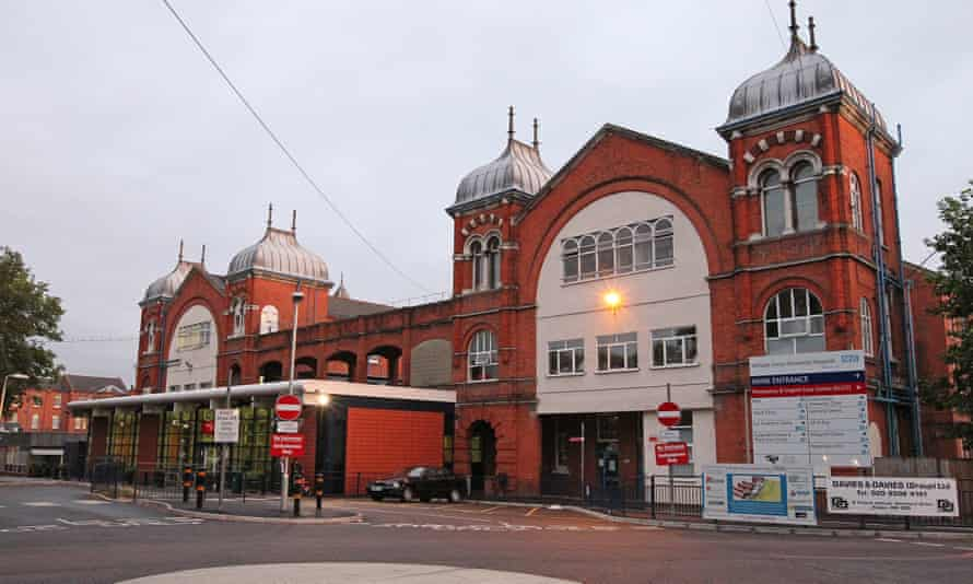 Whipps Cross hospital in east London.