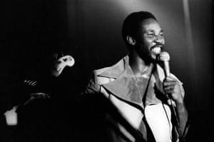 Hibbert performing in the UK in 1976.