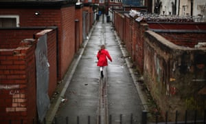 The IFS has predicted that more than a third of British children will grow up in relative poverty.