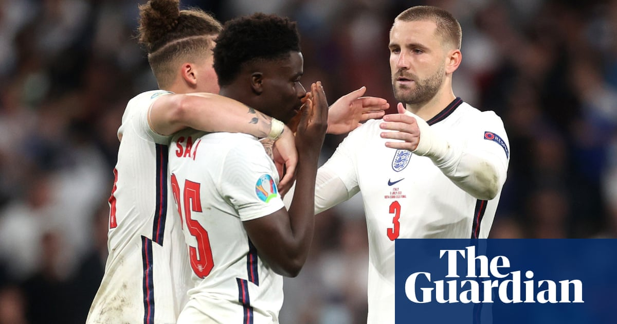 'We're there for him': Luke Shaw sends message to Saka after penalty woe