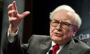 Warren Buffett, CEO and chairman of investment company Berkshire Hathaway.