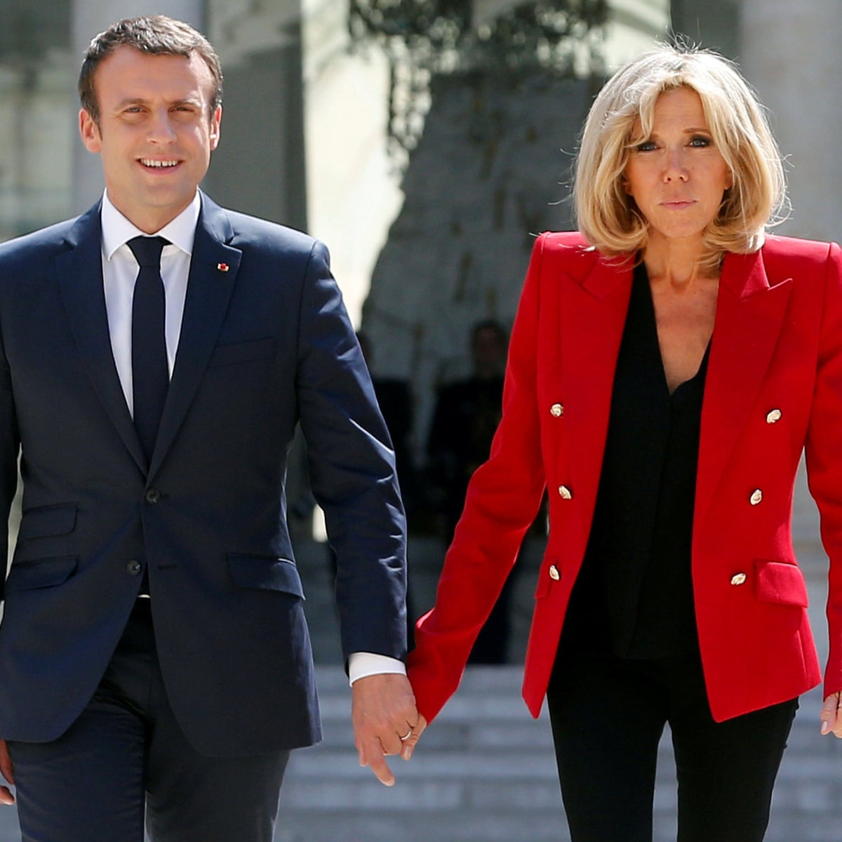 No First Lady Title For Brigitte Macron After Petition Over Her Status Brigitte Macron The Guardian