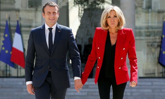 No First Lady Title For Brigitte Macron After Petition Over Her Status World News The Guardian