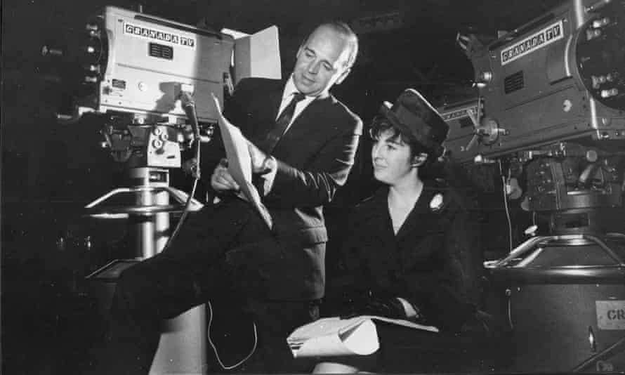 Adele Rose, with John Finch, scriptwriters of Coronation Street