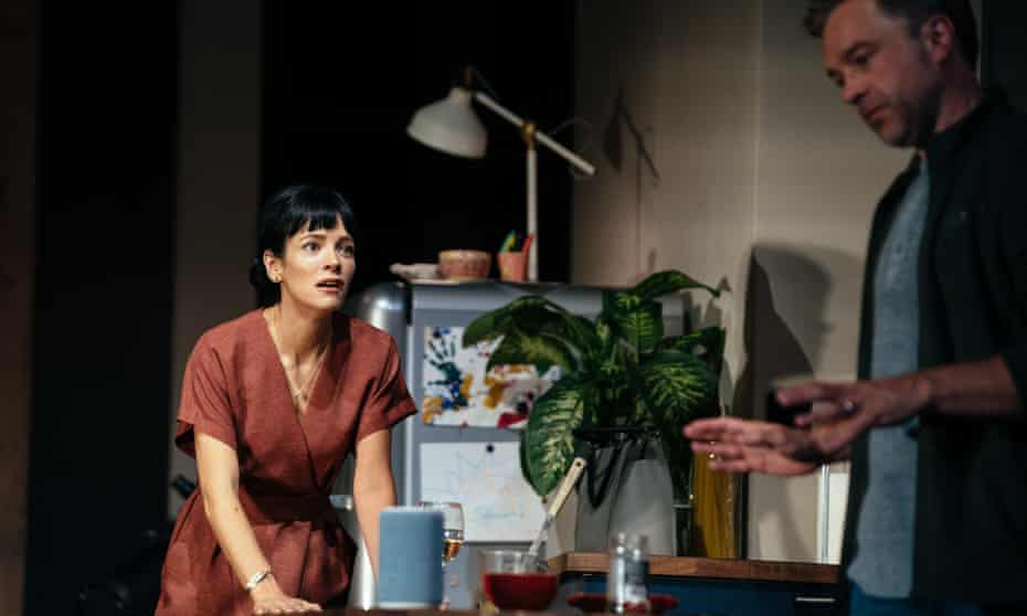 Lily Allen and Hadley Fraser in 2:22: A Ghost Story by Danny Robins.