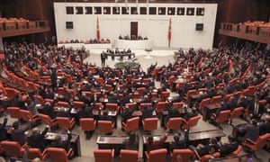 Turkish politicians vote in parliament to send troops to Libya