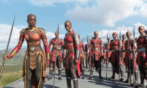 Still from the film Black Panther
