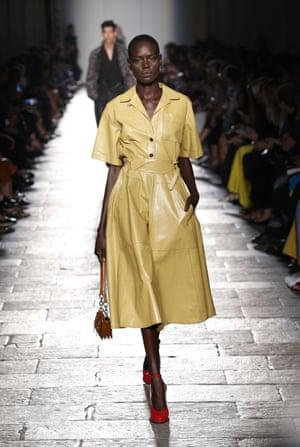 Bottega Veneta show, Milan fashion week 2016