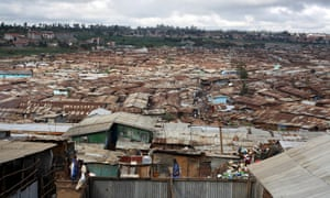 Kibera is the largest informal settlement in Africa.