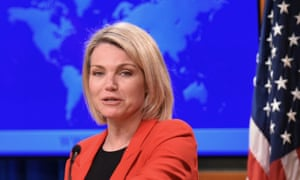 State department spokesperson Heather Nauert has been appointed to replace the current UN ambassador Nikki Haley.