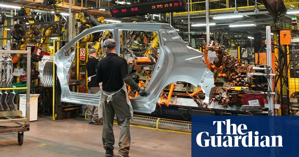 Number of UK factory workers rising at fastest rate for almost 50 jare