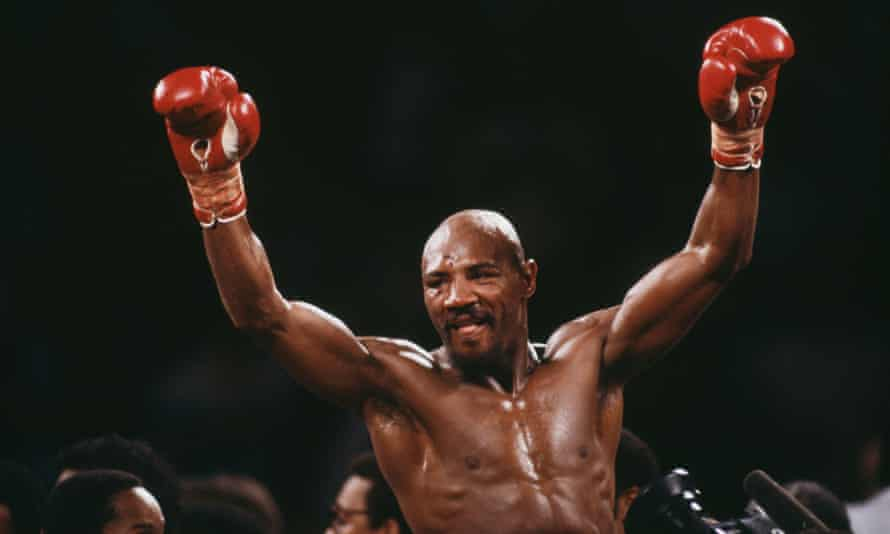 Marvin Hagler, middleweight boxing's towering champion, dies aged 66    Boxing   The Guardian