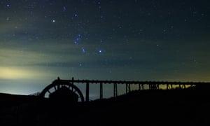Stargazing at Killhope Wheel. North Pennines Stargazing Festival