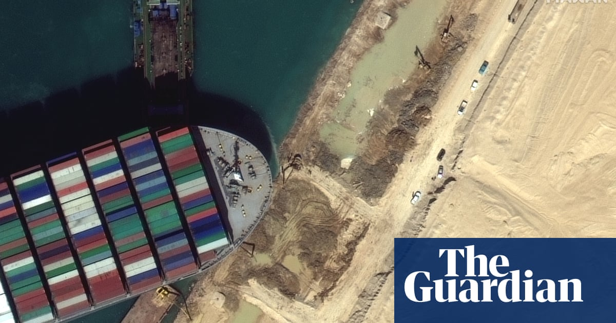 Ikea furniture, tea and French oak: goods held up by Suez canal blockage