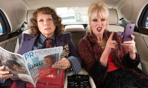 Jennifer Saunders and Joanna Lumley in Absolutely Fabulous: The Movie.