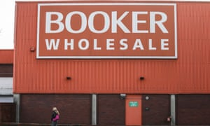 A Booker cash-and-carry in south London.