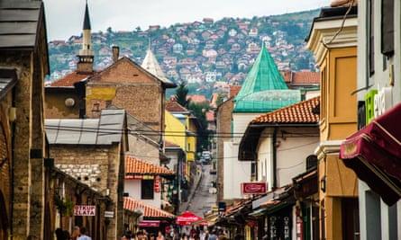 The 'old bazaar', Sarajevo.