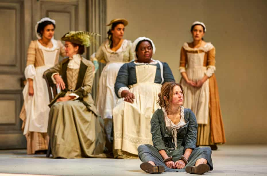 Lucy Kirkwood's The Welkin, currently at the National Theatre, is set in 18th-century East Anglia, with accents to match.