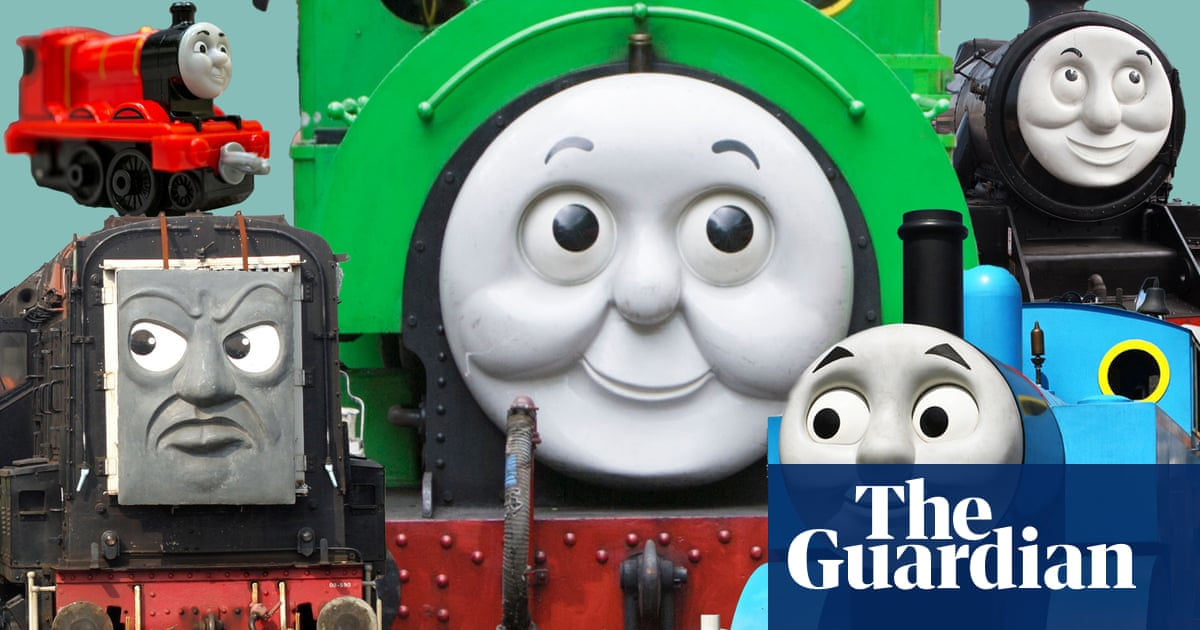 All the trains in my son's train podcast ranked by how much I hate them