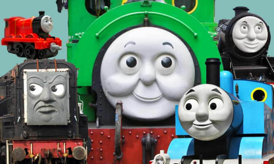 Various Trains from the Thomas the Tank Engine series