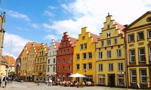 Old buildings, Osnabrück, Germany.