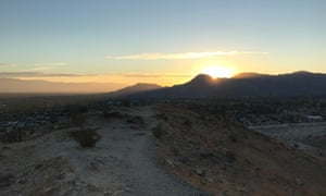 Sunrise at the Hike to the Cross, Palm Desert, Greater Palm Springs.