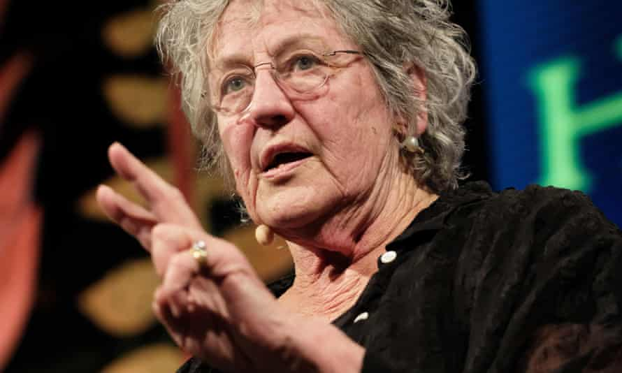 """Germaine Greer at the Hay festival: 'her argument echoes the fallacy that people """"cry rape"""" when they have sex they merely regret.'"""