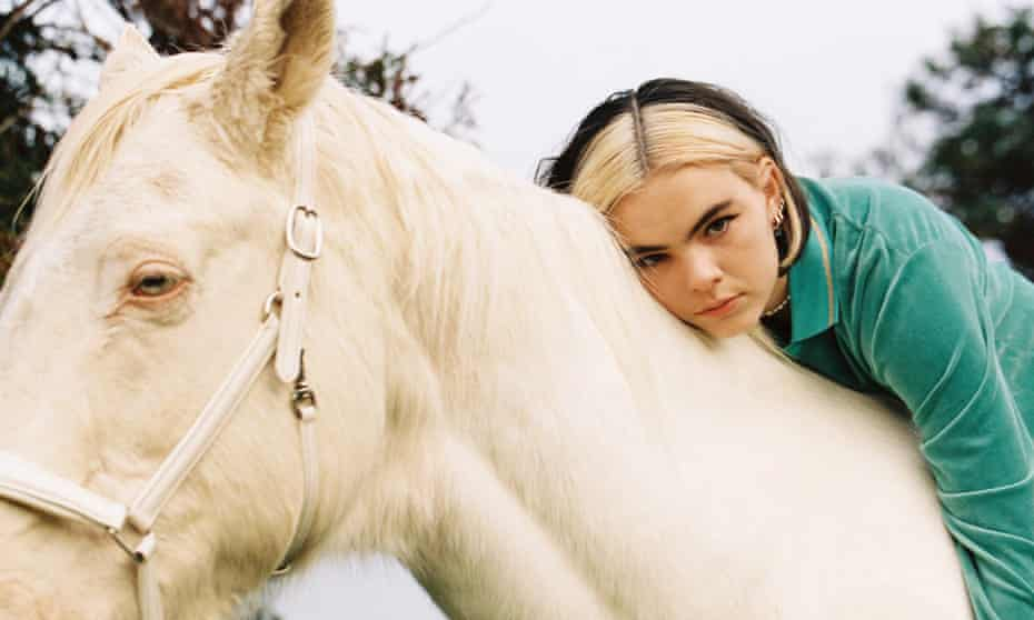 Benee on a horse