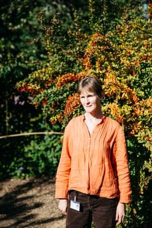 Professor Jane Memmott of the university's School of Biological Sciences, and director of the Botanic Garden