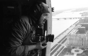 1960s – Photographer Vsevolod Tarasevich shooting from a helicopter over Leningrad by Oleg MakarovThe enthusiasm of some users has enabled whole subjects to be examined in greater depths, Baranova says. 'Our users have [for example] made the whole team of Russia in Photo plunge into the world of Soviet military aviation and automotives. There were many surprises: unusual prints and cropping, first time releases of previously unavailable photographs, and of course forgotten masterpieces of classic Russian photographers'