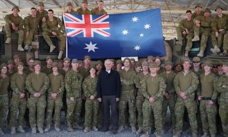 Malcolm Turnbull in Kabul